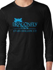 Gilmore Girls - Dragon Fly Inn Blue Long Sleeve T-Shirt