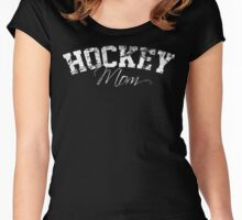 Hockey Mom  Women's Fitted Scoop T-Shirt