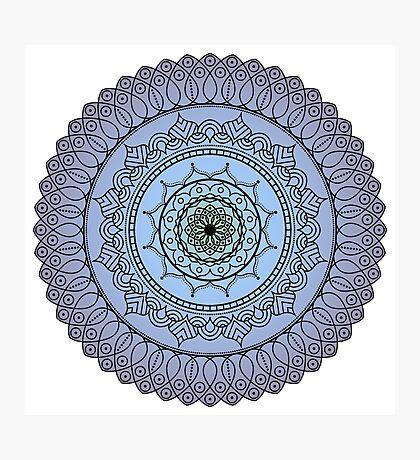The Watching Mandala Photographic Print
