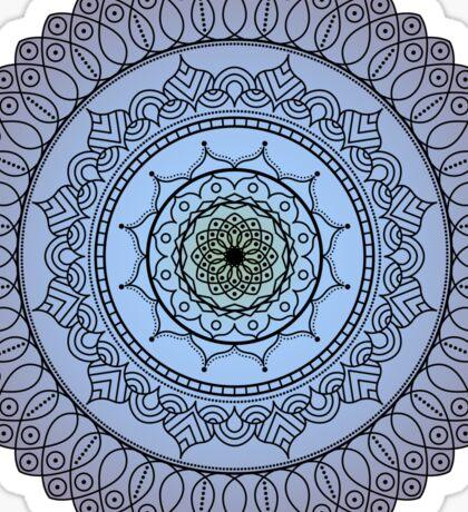 The Watching Mandala Sticker