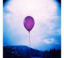 purple happiness Photographic Print