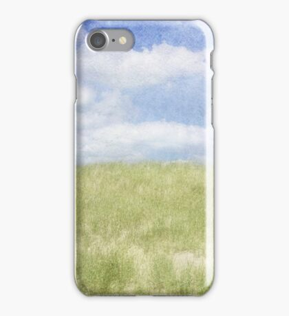 Beyond The Grassy Dune iPhone Case/Skin