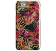 Psychedelic Tropical Print iPhone Case/Skin