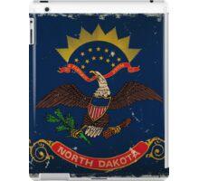 North Dakota State Flag VINTAGE iPad Case/Skin