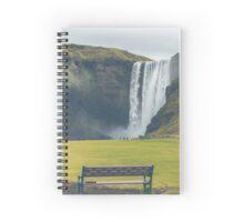 Skogafoss Waterfall, Iceland Spiral Notebook