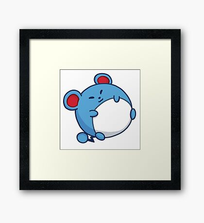 Marill - Pokemon Framed Print
