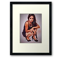 GAMES OVER  ... Framed Print