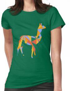 Cool llama Womens Fitted T-Shirt
