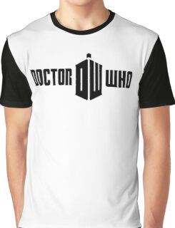 Doctor who logo Graphic T-Shirt