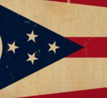 Ohio State Flag VINTAGE Sticker