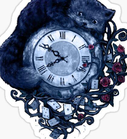 Time in Wonderland Sticker
