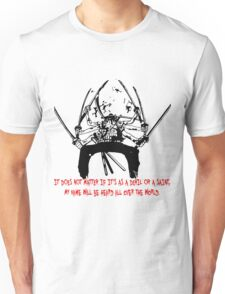 Asura Zoro Version Black & Blood Unisex T-Shirt