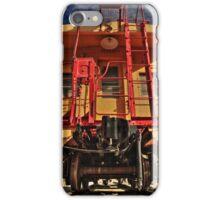 Caboose iPhone Case/Skin