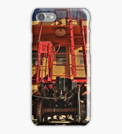 Caboose iPhone Case/Skin