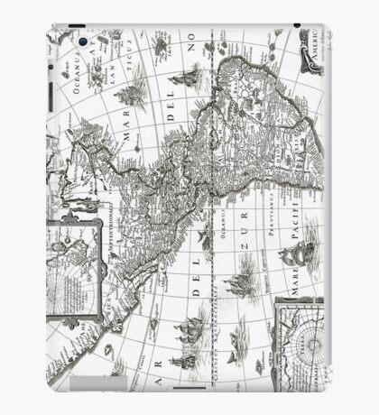 1637 - America noviter delineata iPad Case/Skin
