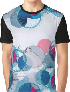 stitched circles Graphic T-Shirt