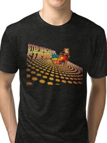 Kylie Minogue - Step Back In Time - Retro Tri-blend T-Shirt