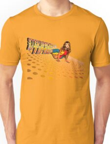 Kylie Minogue - Step Back In Time - Retro Unisex T-Shirt