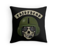 Rotorhead - Helicopter enthusiast Throw Pillow