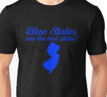 Blue Best New Jersey State Democrat Election 2016 T-Shirt Unisex T-Shirt