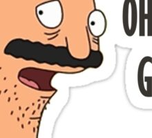 Bob Belcher - Oh My God Sticker