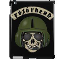 Rotorhead - Helicopter enthusiast iPad Case/Skin