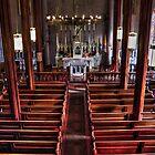 Saint Mary's Virginia City by James Eddy