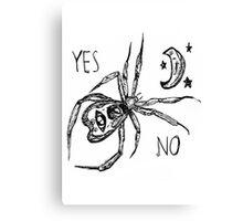 Ouija Spider Canvas Print