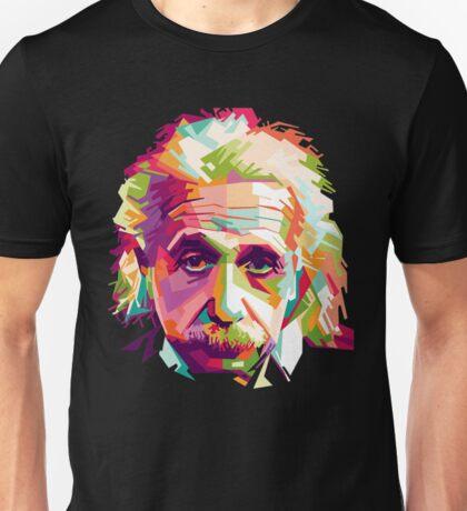 Albert Einstein Genius Space Cosmos Galaxy Universe Unisex T-Shirt