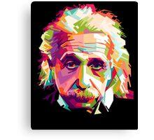 Albert Einstein Genius Space Cosmos Galaxy Universe Canvas Print
