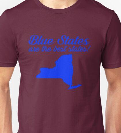 Blue Best New York State Democrat Election 2016 T-Shirt Unisex T-Shirt