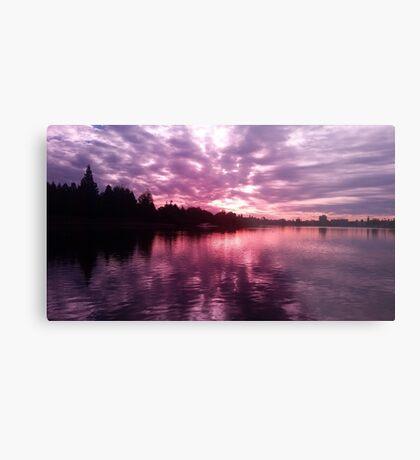 Lake Merritt Through Rose Colored Glasses Metal Print
