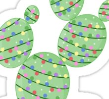 Christmas Tree Cactus  Sticker