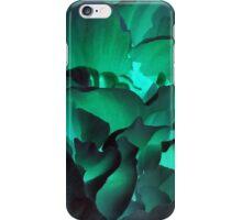 Green petals iPhone Case/Skin