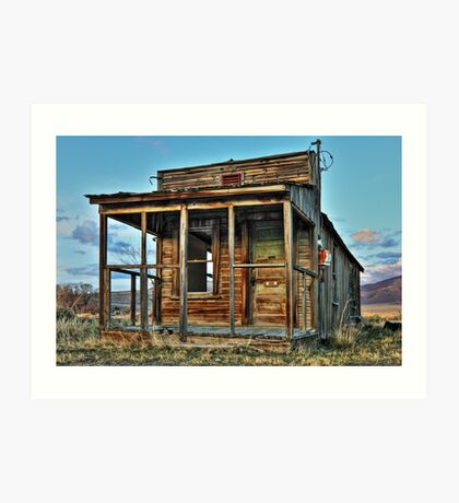 The Old Wendel Post Office Art Print