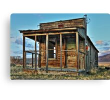 The Old Wendel Post Office Canvas Print