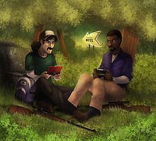 Gaming bros by Lawrence-Lore