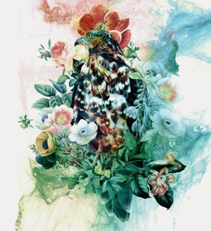 Bird in Flowers Sticker