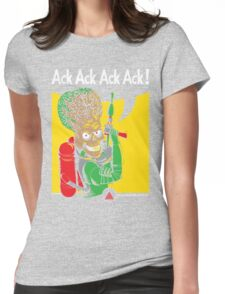 We Can Attack It Womens Fitted T-Shirt