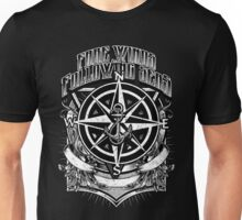 Fare Winds and Following Seas Nautical Compass & Anchor Unisex T-Shirt