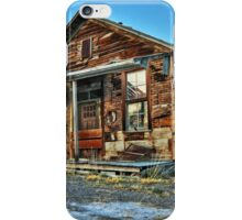 The Old Wendel General Store iPhone Case/Skin