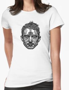 """Elijah Wood"" (Hollywooden) Womens Fitted T-Shirt"