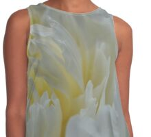 Whipped Cream Flower Contrast Tank