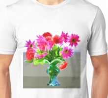 Green vase with bright colors Unisex T-Shirt