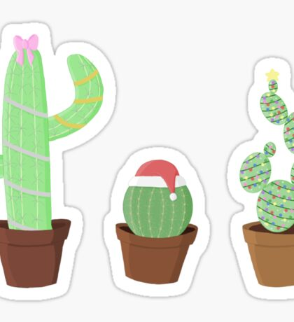 Christmas Cactus collection  Sticker