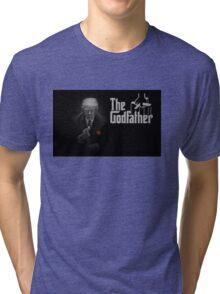 The Godfather Trump Tri-blend T-Shirt