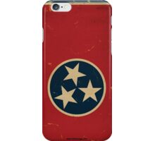 Tennessee State Flag VINTAGE iPhone Case/Skin