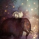 Riding through the Night by Catrin Welz-Stein