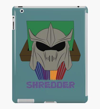 SHREDDER.  iPad Case/Skin