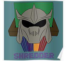SHREDDER.  Poster